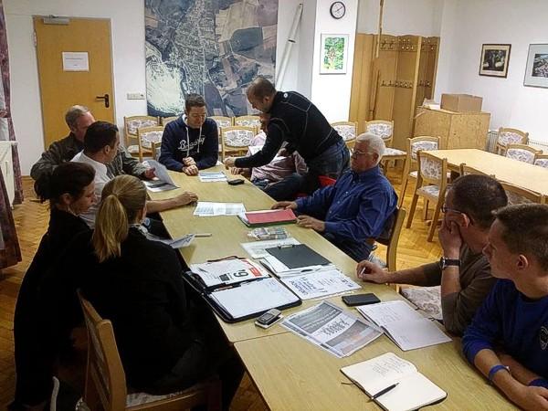 Sitzung des Org-Teams
