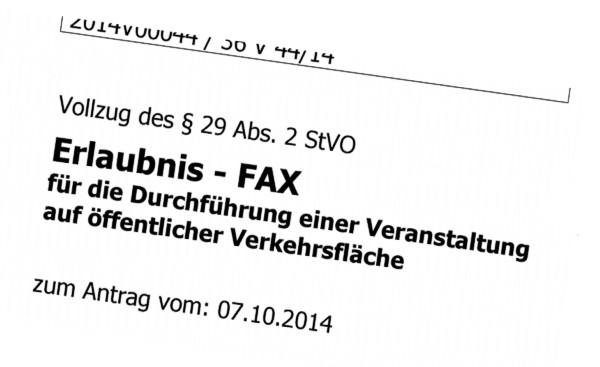 erlaubnis fax